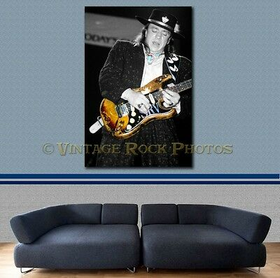 Stevie Ray Vaughan Poster 40x60 in Photo '80s Live Concert Ltd Edition Design 69