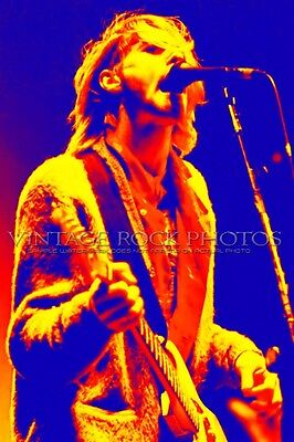 Kurt Cobain Nirvana Canvas Fine Art Gallery 36x54 in Framed Print Ltd Edition 5A