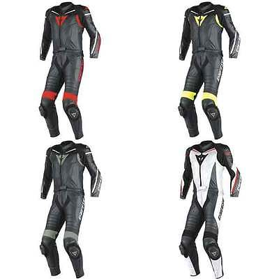 Dainese Laguna Seca D1 Motorcycle Two Piece Leather Suit All Colours & Sizes
