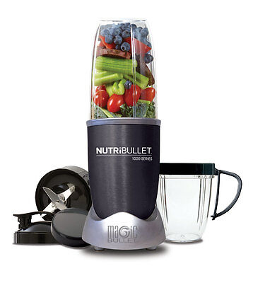 NEW NutriBullet 1000W Series - 9pc Set - N100907DG from Bing Lee