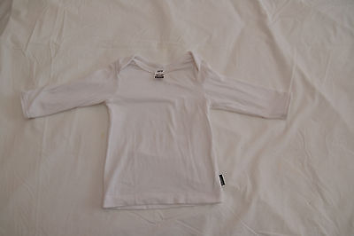 Bonds long sleeve white top - size 00