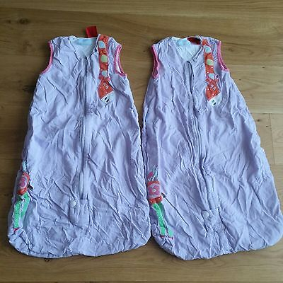 2x Grobags 1 tog 6-18 months