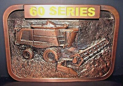 John Deere Ltd  60 Series Combine 2004 Service Training Belt Buckle Australia NZ