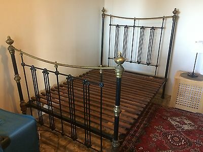 Double Bed Cast Iron Bed Frame