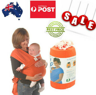 Fashion Orange  Moby Wrap cotton  Wrap Infant Baby Carrier Sling  0-3 Years