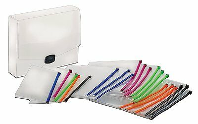 Poly Zip Up Envelopes Safely Protecting Paper Organize File Letter Office School
