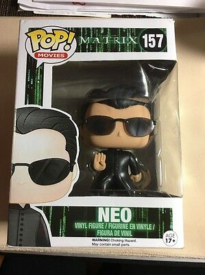 Funko Pop! Movies 157 The Matrix Neo Vinyl Figure Official New
