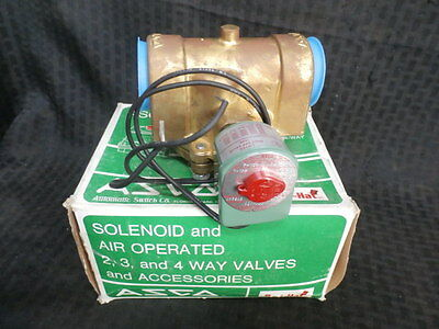 "ASCO 8210D22 2-Way SOLENOID VALVE 1-1/2"" **NEW**"