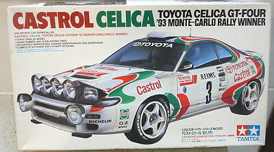 Tamiya 1:24 Scale Castrol Celica GT-Four Model Kit (NO DECALS)