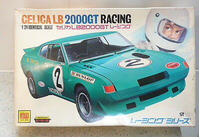 '70s Otaki 1:24 Scale Toyota Celica LB2000GT Racing Car model kit (NO TYRES)