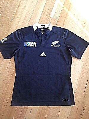 2011 Rugby World Cup All Blacks Jersey