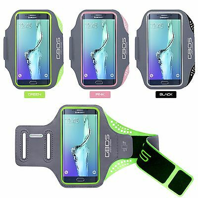 GBOS® Sports Gym Exercise Armband With Adjustable For Samsung Galaxy S6 Edge