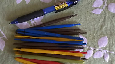 STOCK CLEARANCE - 50 plastic MAPPING pen holder handle pens nibs - BN