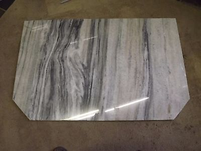 Marble fire heard for wood heater or fireplace 1325x825mm
