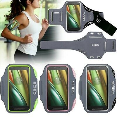 GBOS® Gym Armband Running Jogging Exercise Case For Moto G4/ G4 Plus/ G4 Play