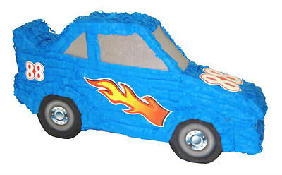 Blue Race Car Pinata Birthday Or Party Game/ Decoration