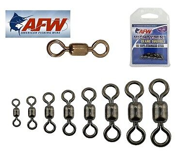 AFW Mighty Mini Stainless Steel Crane Swivels Choose Size New