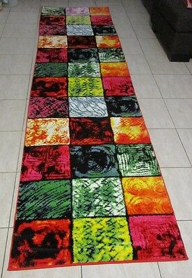 New Modern Heatset Quality Hallway Runner Floor Rug 80X300Cm