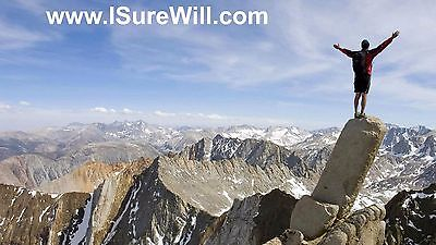 www.ISureWill.com - short, catchy .com domain name phrase for sale!
