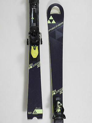 Fischer RC4 Worldcup SC Slalom Carver 160cm SKI Mo. 2016 + Z12 Bindung (WB109)