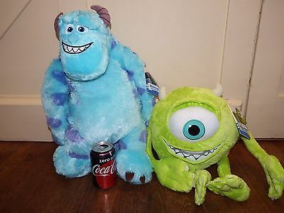 NEW Jumbo size Disney Monsters Inc University Mike Sulley soft plush figure toy