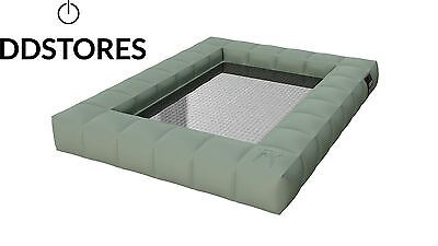 Pigro Felice Modul Air Luxe Hamac Gonflable Double PVC Vert Olive 155 x 130...