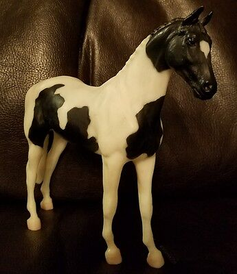 Breyer Traditional Horse Black and White Paint