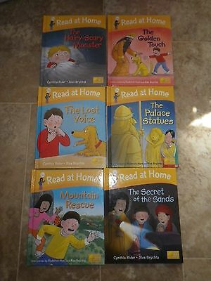 Oxford Reading Tree Floppy's Phonics Read at Home Level 5 Books X 6