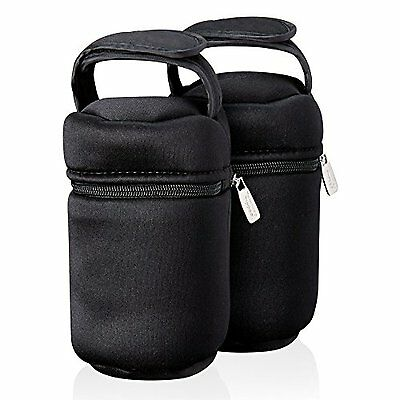 Tommee Tippee Insulated Bottle Bags Warmers Coolers Twin Pack Baby Thermal