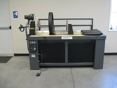 Magnaflux Magnetic Particle Wet Bench Unit With Demag Ndt Equipment