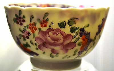 Antique Chinoiserie Porcelain Famille Rose Canton 19th C. Chinese Small Bowl
