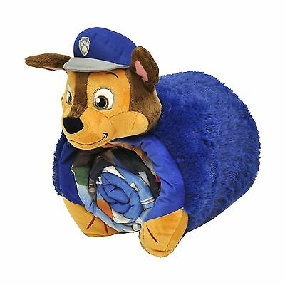 Nickelodeon Paw Patrol Boy 3D Pillow with Sleeping Bag Nap Mat