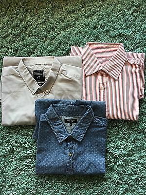 Men's New Look Shirt Bundle X3 Size XL
