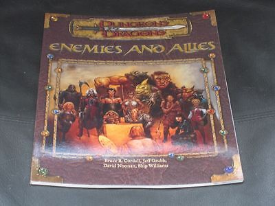 Dungeons & Dragons Enemies And Allies Accessory
