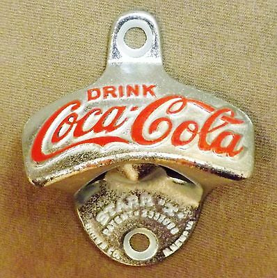 Vintage STARR X Coca-Cola Bottle Opener Wall Mount Brown Co W Germany