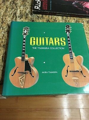 Guitars The Tsumura Collection Hardcover Book w/ DJ 1987 1st Ed