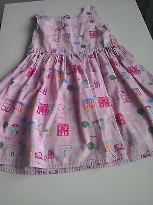blue zoo girls dress age 4-5 years
