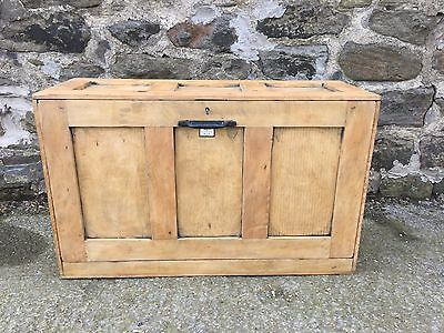 Toolmakers cabinet, toolmakers chest, antique chest