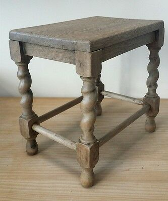 Small Vintage Wooden Stool / Table 1960s