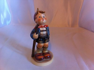 "Authentic Vintage Goebel  Hummel Figurine LITTLE HIKER apx. 5 1/2"" tall Germany"