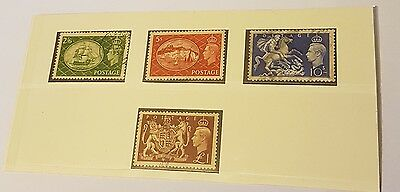 gb stamps kg vI 1951 full set f /used