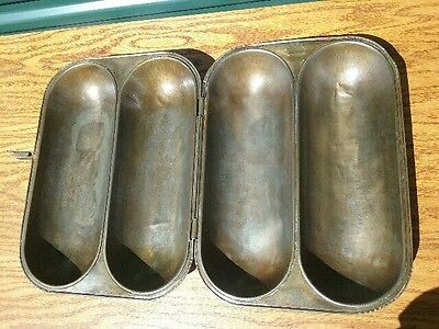 Antique IDEAL Bread Baking Pan DOUBLE Loaf