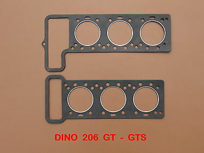 Ferrari Dino 206 Gt , Joints De Culasses , Head Gaskets Set , Zyl-Kopf Dichtung