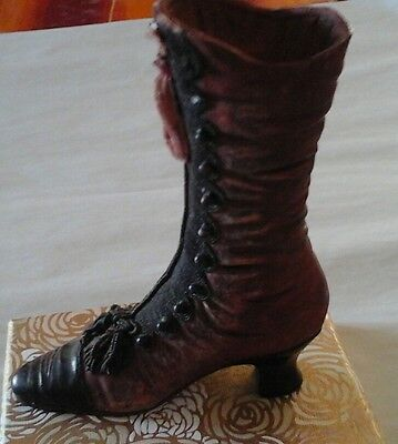 Beautiful colectable miniature boot