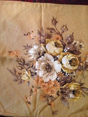Linen Hand Made Cushion Covers 1950s /60s