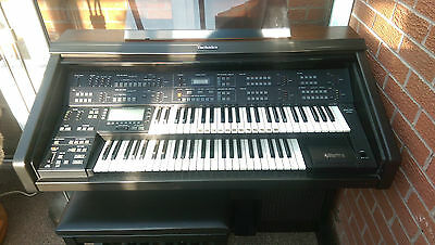 Technics SX-GX3 Electric Organ complete with Stool