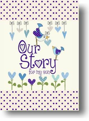 Our Story, for My Son (Capturing 18 years of great memories) Memory Book New Bab