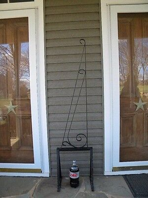 """Vintage Wrought Iron Hanging Sign Bracket~For Up To 45"""" Sign~Local Pick Up Only"""