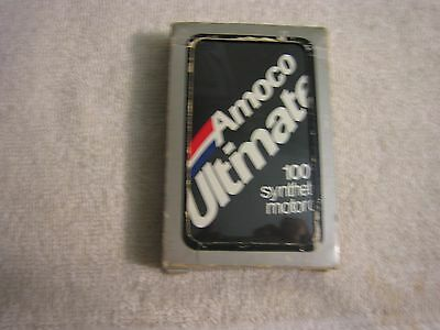 Vintage Amoco Ultimate 100% synthetic motor oil Playing Cards