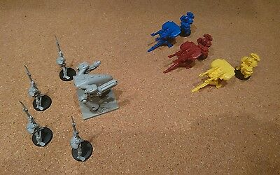 Space Crusade Tarantula set Vs Dreadnought & Chaos Android's (New)